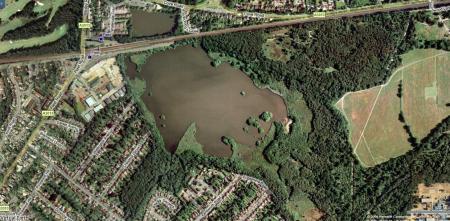 Fleet Pond, Hampshire.
