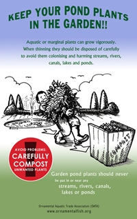 Ornamental plants make good compost