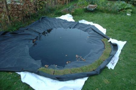 Ponds leicesterpond garden design urban gardening - Build pond wildlife haven ...